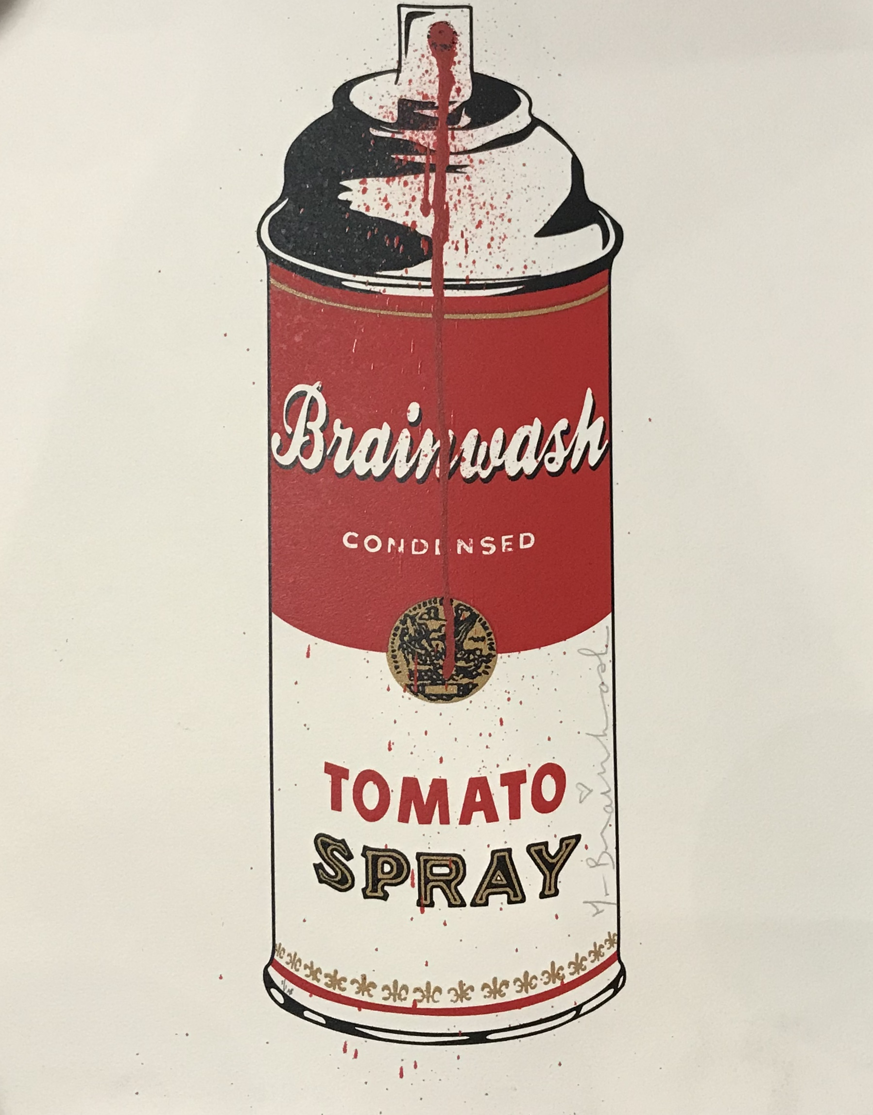 Brainwash spray